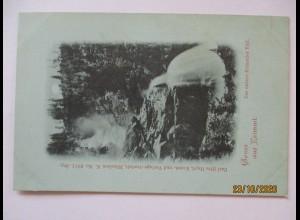 Gruss aus Krimml, Wasserfall, ca. 1900 Verlag Hayd (19863)