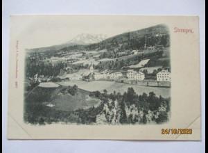 Tirol Strengen Panorama, frühe Karte ca. 1895 (33714)