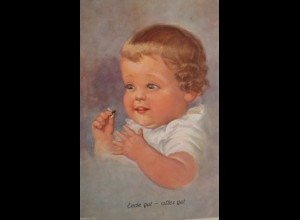 Kinder, Baby, Fliege, Ende gut- alles Gut, 1920, Wally Fialkowska ♥ (25262)