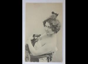 Frauen, Mode, Haarmode, Steif Tier, 1911 ♥ (74767)