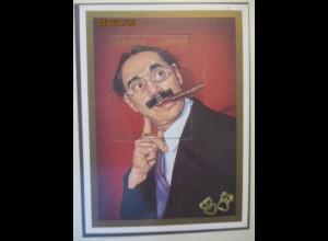Kunst Unterhaltung Groucho Marx, xx Block Ghana (13488)