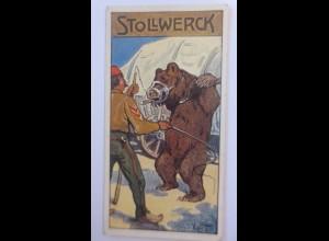 """""""Stollwerk, Gruppe 455, Nr2, Album11, Der Tanzbär, Braunbär"""" 1910 ♥"""