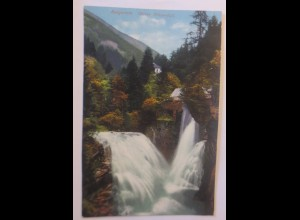 Photochromie, Badgastein Oberer Wasserfall, Salzburg, 1910 ♥ (74366)