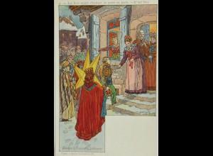"""Drei Könige"" 1900, sig. P.Kaufmann ♥ (7106)"
