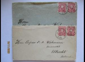 Geologie, 2 Briefe an Professor Artur Wichmann in Utrecht (57325)