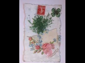 """Oblate auf Ansichtskarte"" 1906 ♥ (56803)"