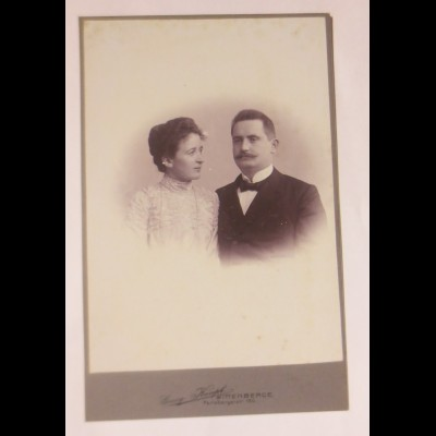 Foto, Frauen, Männer, Mode, Georg Haupt Wittenberge. ca.1890 ♥ (33776)
