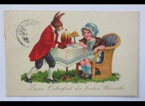 Ostern, Personifiziert, Osterhase, Kinder, Mode, Kuchen, 1938 ♥ (65738)