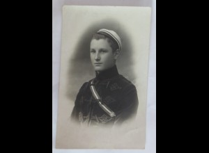 Foto Studentika, Männer Student mit Uniform, 1908 ♥ (41789)