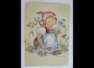 Geburtstag, Kinder, Mode, Blumen, 1971, Hummel ♥ (28014)