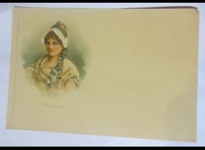 Trachten, Frauen, Mode, Helgoland, 1900 ♥ (26905)