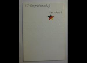 Sonderblatt EU-Ratspräsidentschaft Deutschland 2007 ♥