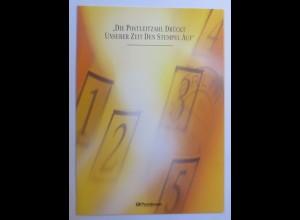 Sonderblatt Die Postleitzahl Drückt unserer Zeit den Stempel auf 1993 ♥
