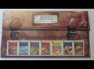 Harry Potter Royal Mail Mint Stamps 2007 ♥