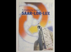 Sonderblatt Europäische Region Saar-Lor-Lux 1997 ♥