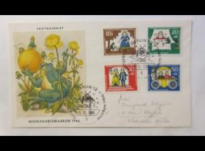 FDC Märchen Der Froschkönig 1966 ♥ (31584)