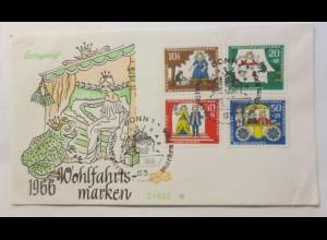 FDC Märchen Der Froschkönig 1966 ♥ (1309)