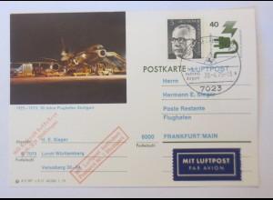 50 Jahre Flughafen, Stuttgart 1975 ♥ (42568)