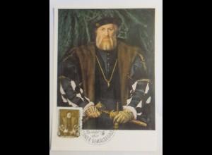 Maximumkarte Gemäldegalerie Dresden Bildnis der Morette 1956 ♥ (66164)