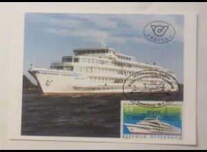 Maximumkarte 150 Jahre Moderner Schiffbau in Österreich ♥ (74979)