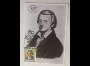 Maximumkarte Paul Kitaibel Naturforscher Wien 1992 ♥ (74985)