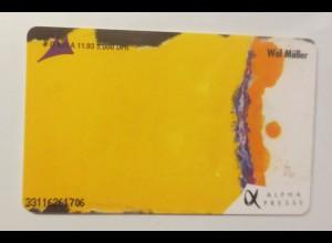 Telefonkarte 1200 Jahre Frankfurter Leben 1994 ♥ (28718)