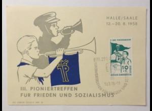 3. Pioniertreffen für Frieden und Sozialismus 1958 ♥ (75105)