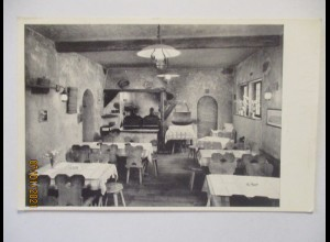 Lausanne Restaurant La Glisse, Rue de Louvre 1956 (34472)