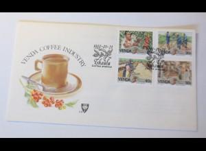 FDC Venda Kaffee Industrie Tshaulu 1988 ♥ (75125)