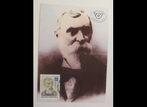 Maximumkarte Dr. Carl Josef Bayer Chemiker 1987 ♥ (65679)