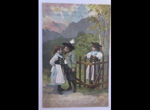 Kinder, Mode, Trachten, 1902♥ (22487)