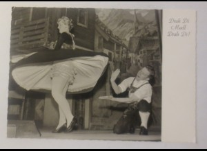 Künstlerkarte, Trachten, Drah Di Madl Drah Di, Platzl München, 1960 ♥ (75226)