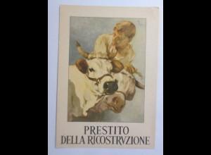 Italien, Prestizo della Ricostrvzione, Wiederaufbaus, 1946 ♥ (13490)