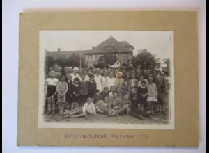 Kinder, Sport, Vereinswettkämpfe 1900, original Foto