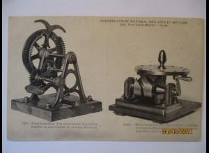 Technik, Conservatoire national des arts et métiers, Maschine, ca. 1900 (580)