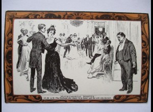 Pictorial Comedy Postcard, Gibson´s Drawings Nr.43, ca. 1910