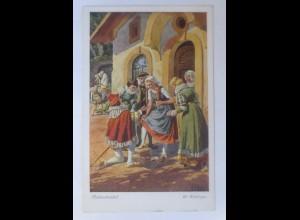 Märchen, Aschenbrödel, 1910, O.Kubel Serie 154, Nr.3878 ♥ (17523)
