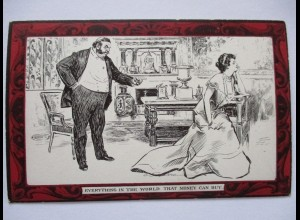 Pictorial Comedy Postcard, Gibson´s Drawings Nr.48, ca. 1910