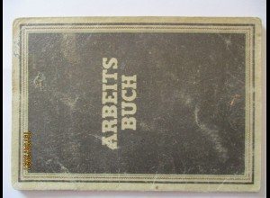 Arbeitsbuch DDR Kreis Köthen 1954-1961 (16340)