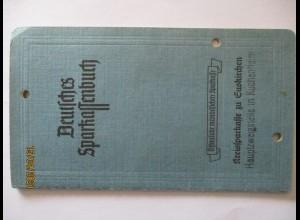 Deutschland Währungsreform 1948 Sparbuch Euskirchen Kuchenheim ab 1946 (21202)