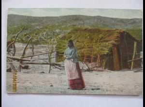 Indianer The real Ramona Lubo, Photo George Wharton James, LA 1915 (3551)