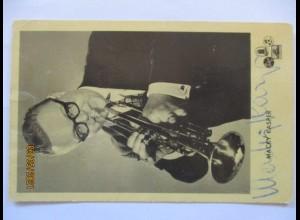 Macky Kasper Musik Trompete, original Autogramm (21301)