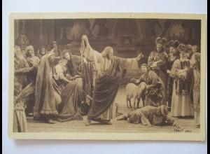Passionsspiele Oberammergau 1922, Vertreibung der Händler (48022)
