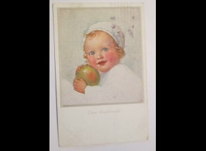 Kinder, Ball, Zwei Kugelrunde; ca. 1916, Wally Fialkowska ♥ (3316)