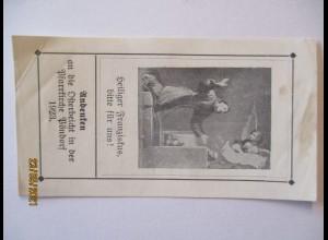 Religion, Heiliger Franziskus, Andenken an die Osterbeichte Pöndorf 1923 (65544)