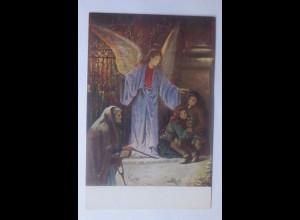 Weihnachten, Engel, Der Weihnachtsengel, Kinder, 1910 ♥ (62318)
