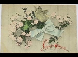 """""""Ostern, Küken, Schleife, Blumen"""" 1909 ♥ (12061)"""