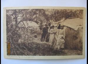 Indianer Wigwam Dorf 1924 (32474)