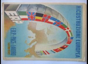 Italien Ricostruzione Europea ERP Sonderkarte 1950 (39263)