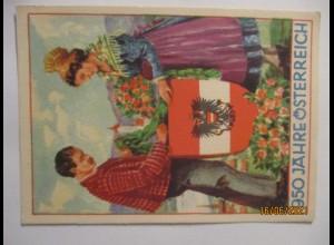 950 Jahre Österreich, Sonderkarte 1946 (75108)